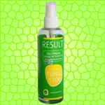 RESULT - Fungi Stop - эффективное средство от грибка на ногах, а также запаха носков и обуви. Концентрат органического серебра в удобной упаковке